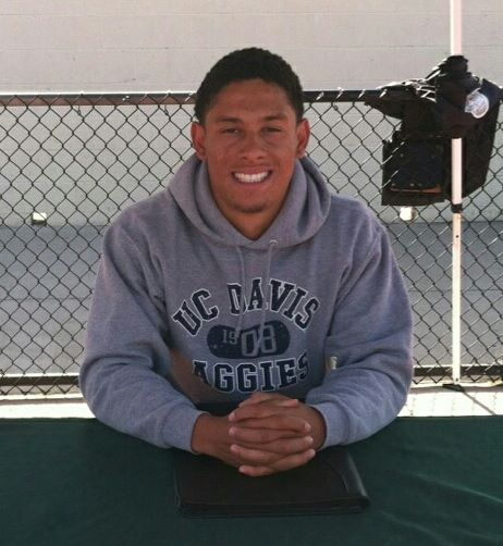 Cameron CJ Edwards from Castro Valley High with SportsHopes
